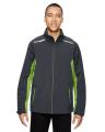 North End® Men's Excursion Soft Shell Jacket with Laser Stitch Accents