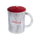 DOLOMITER 400 ML. (13.5 OZ.) TWO-TONE MARBLE LOOK MUG